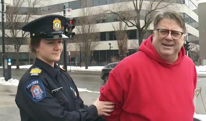 WATCH: CHOM's Terry DiMonte goes to jail    for a good cause
