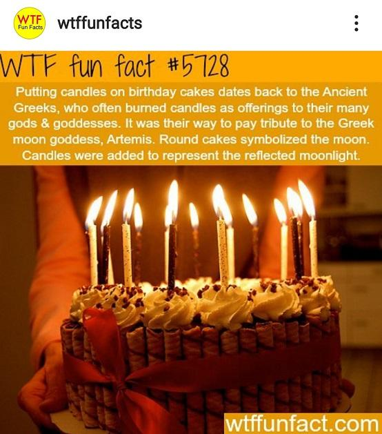 Phenomenal Just The Facts The Origin Of Candles On A Birthday Cake Funny Birthday Cards Online Elaedamsfinfo