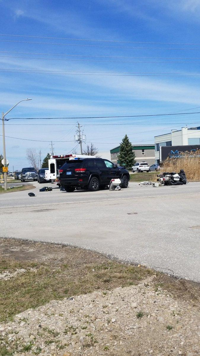Charge Laid in Serious Motorcycle Crash on County Road 42