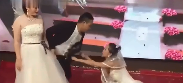 WATCH: Ex-Girlfriend Shows Up To Stop The Wedding