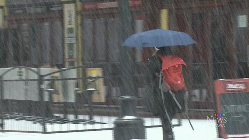 Calendar Says Its Winter But I Find >> Snowiest April 9 In Ottawa History