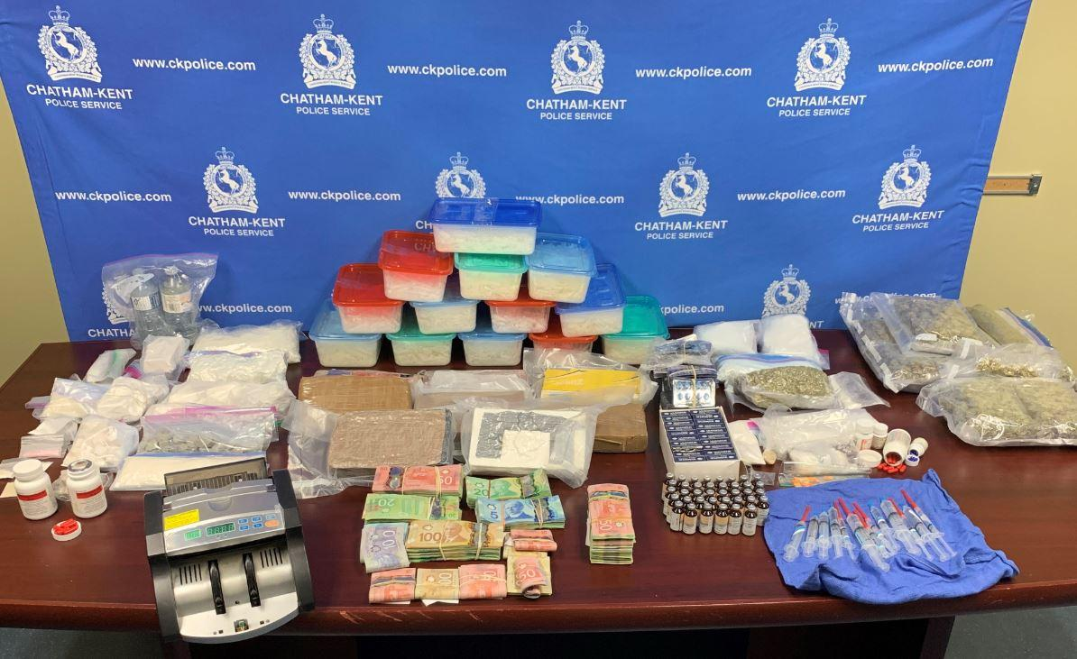 Drug Raid in Chatham-Kent Largest in Municipality's History
