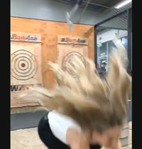 axe throwing mishap png