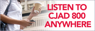 CJAD Listen Anywhere button