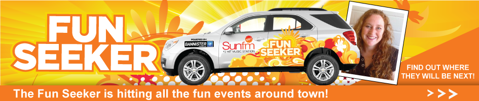 105.7 Sun FM Fun Seeker Front Page Banner