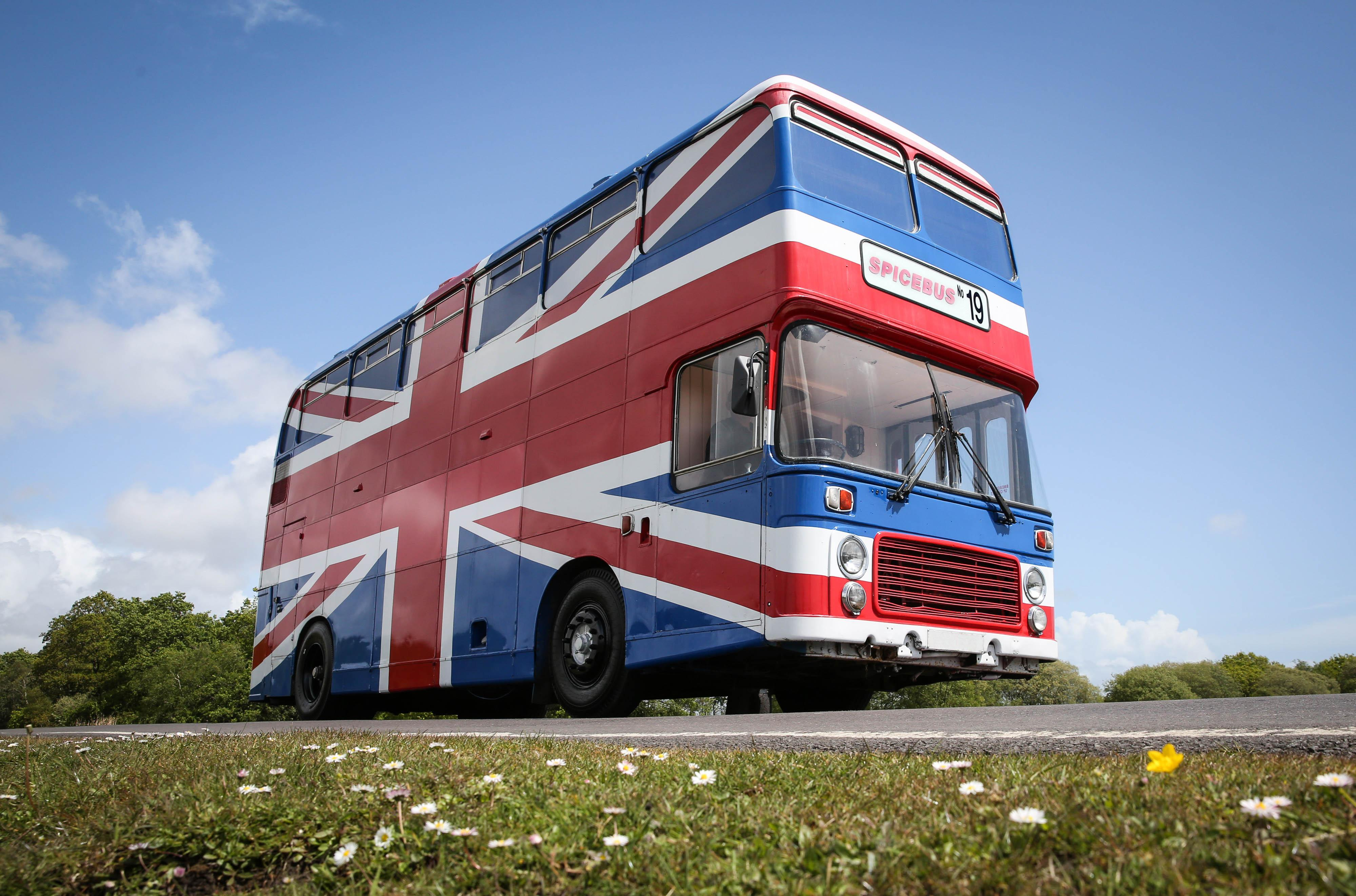 You can now sleep in the Spice Girls Bus