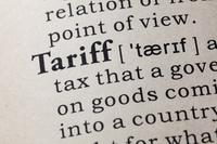 Tariff graphic