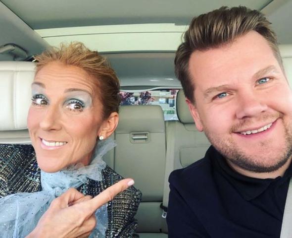 Watch Celine Dion Joins James Corden For Carpool Karaoke