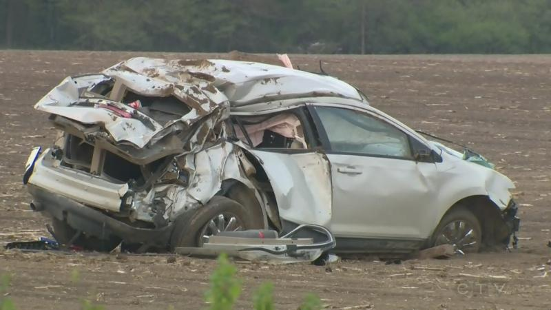 Driver seriously hurt in crash south of Listowel
