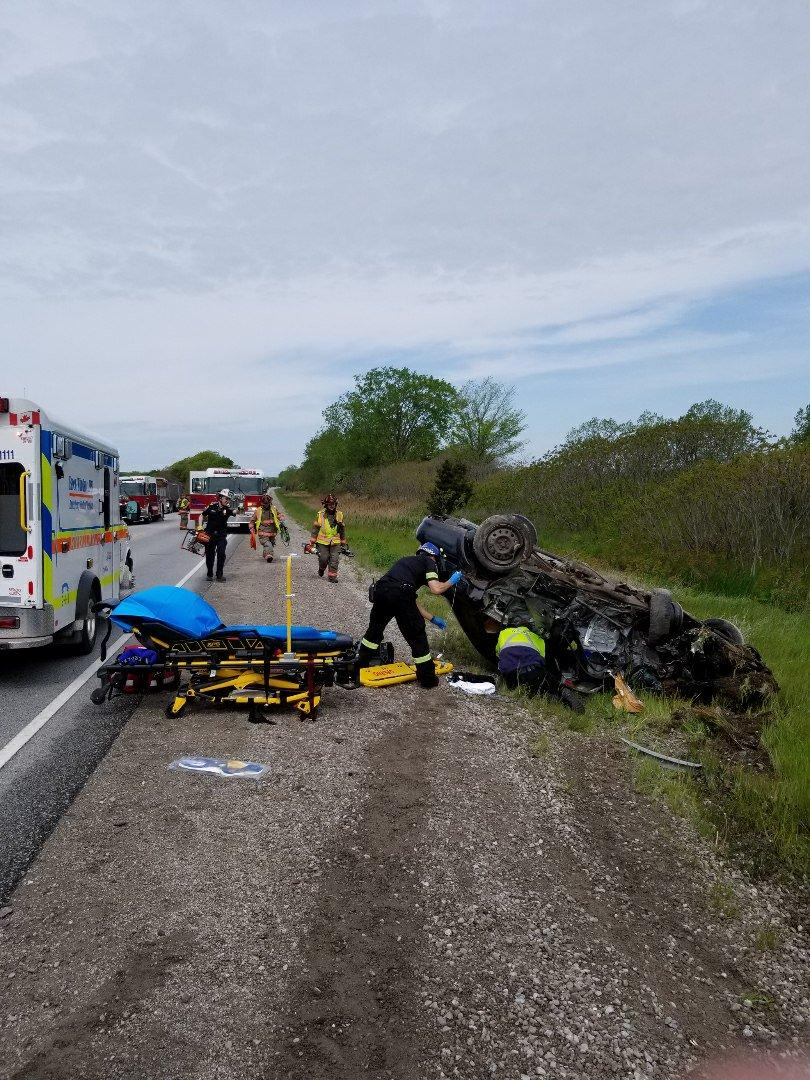 UPDATE: Highway 3 Now Open After Serious Crash