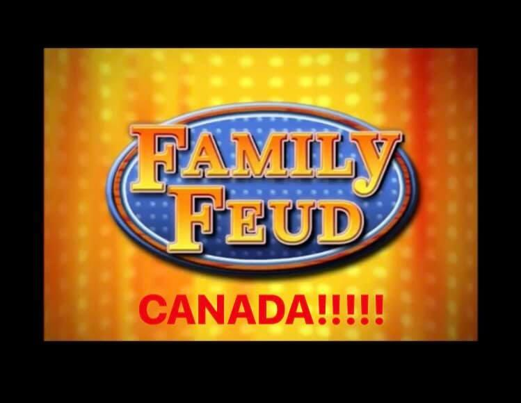 Family Feud is Coming to Canada!