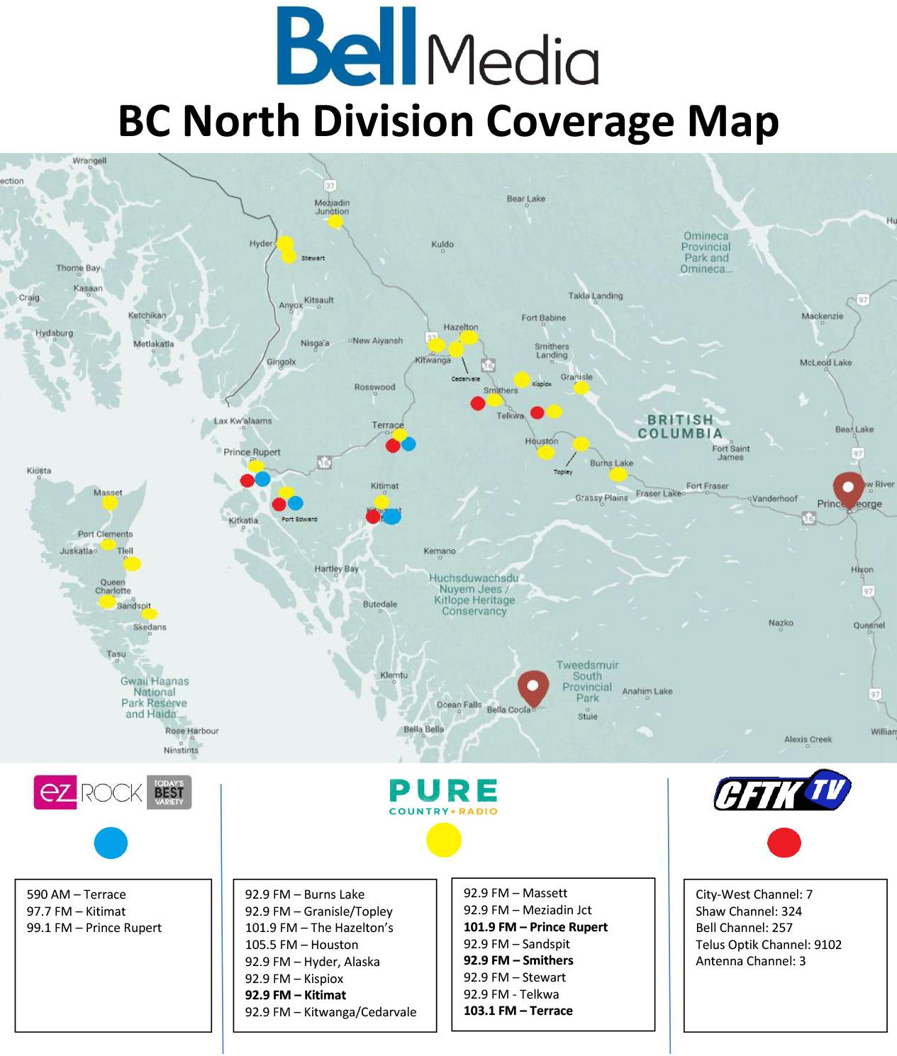 BC Coverage Map