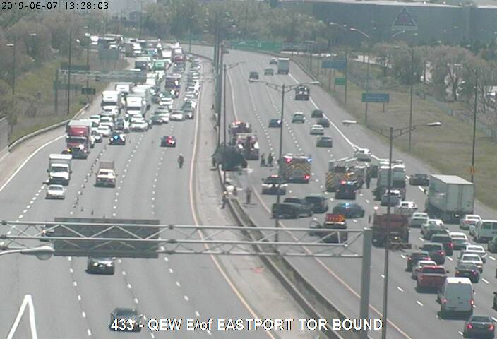SKYWAY | Situation slowing returning to normal on Burlington