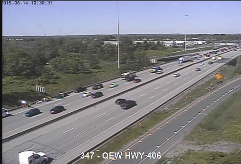 TRAFFIC | Crash on the QEW Fort Erie Bound near the 406