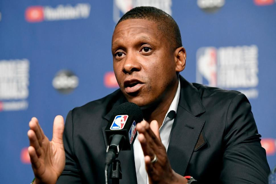 Masai Ujiri Photo Frank Gunn -The Canadian Press