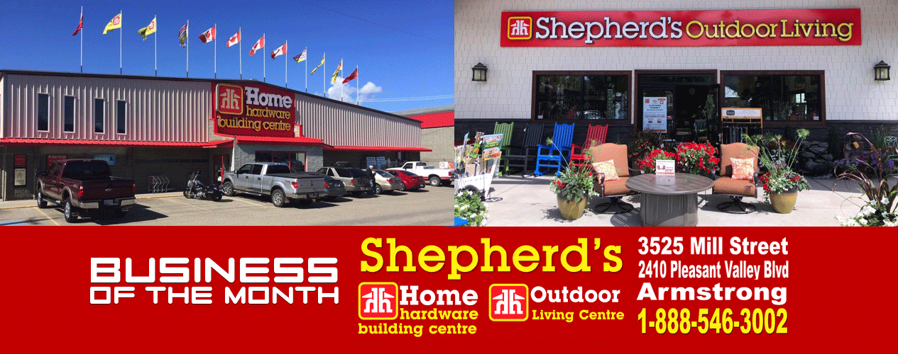 105.7 Sun Fm - BotM July 2019 - Shepherd's Home Hardware
