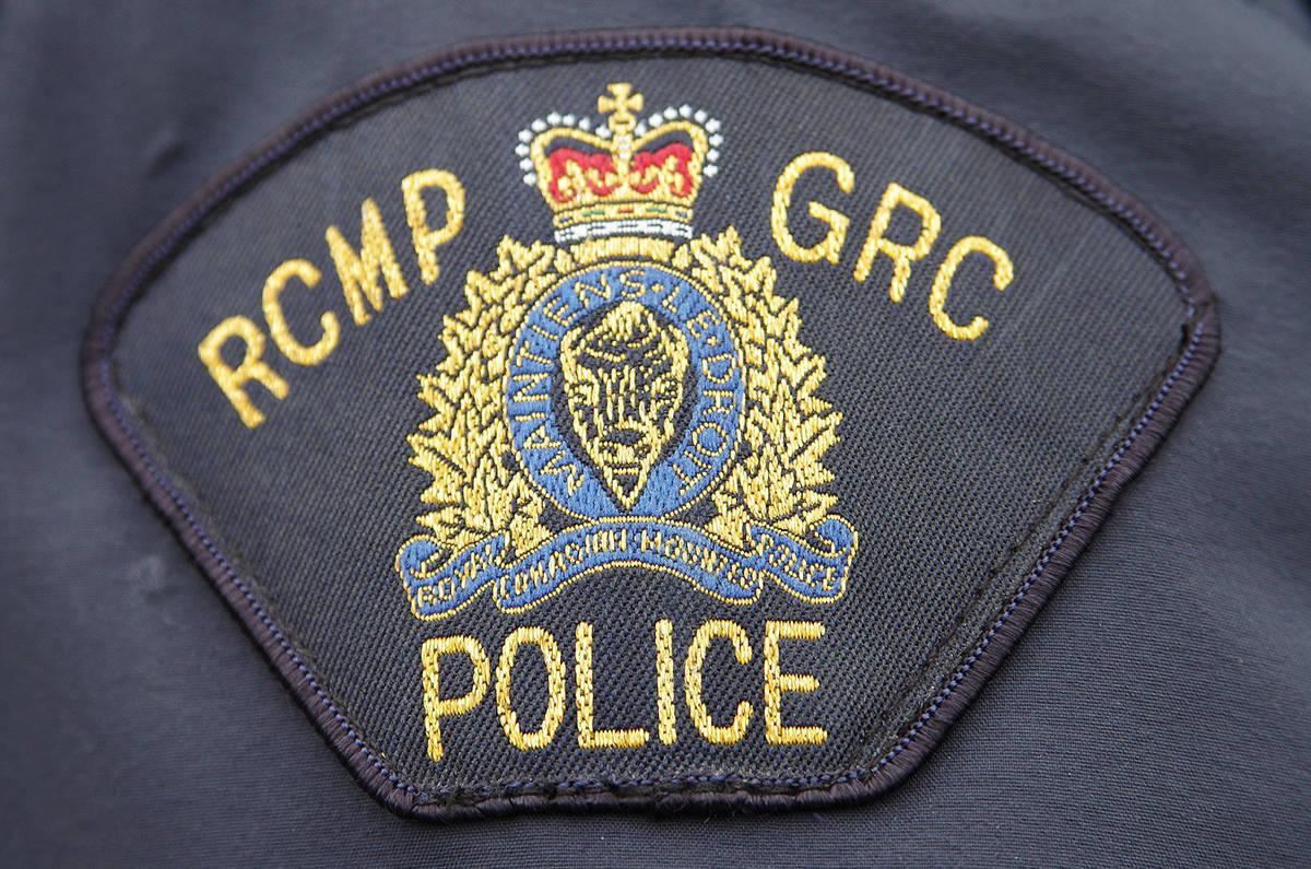 RCMP shoulder patch