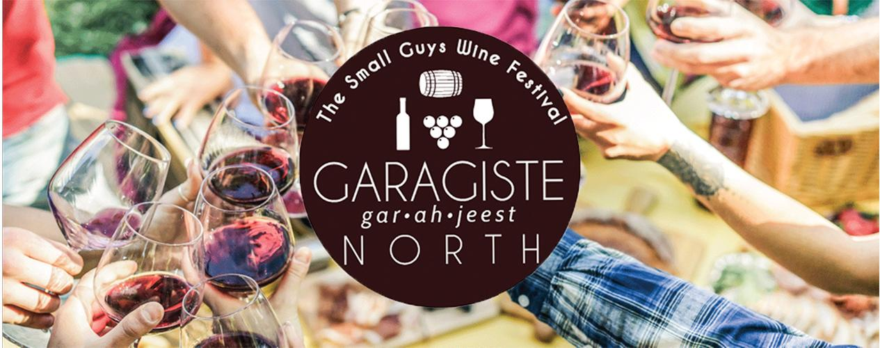 Garagiste North Wine Fest banner