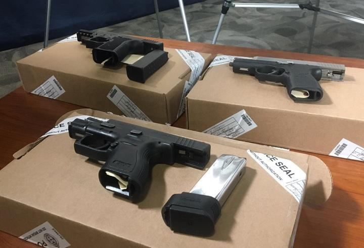 VIDEO: Guns, Drugs Seized in Project Oz in Windsor, Toronto