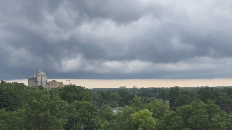 Tornado warning issued as storm tracked through area