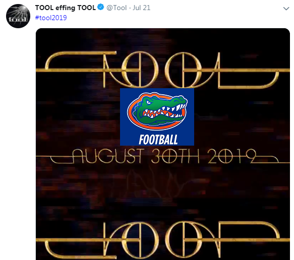 Someone Has Linked Tool's Album Releases To Football Teams Success