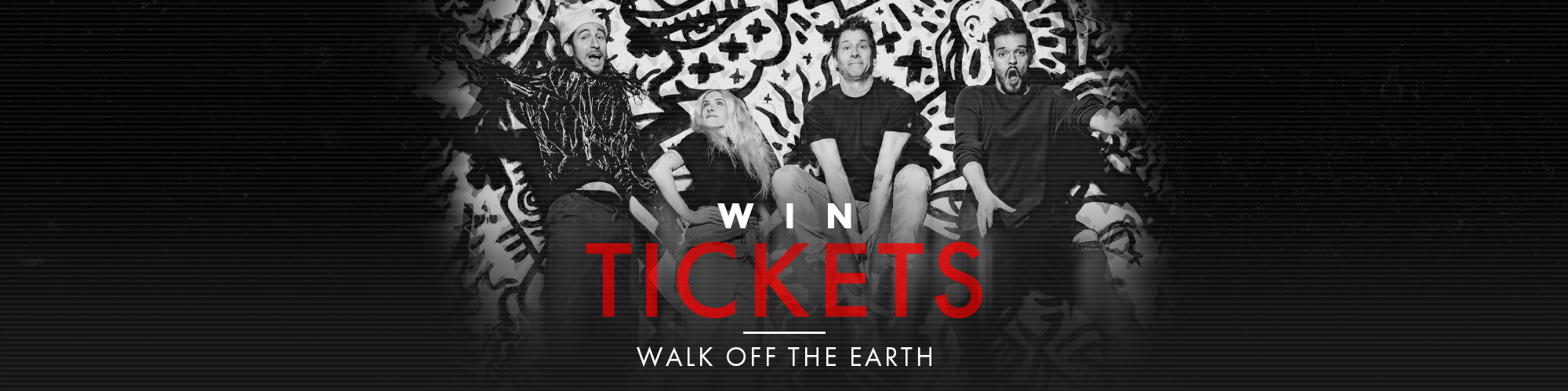 Walk Off The Earth Tickets Contest Banner