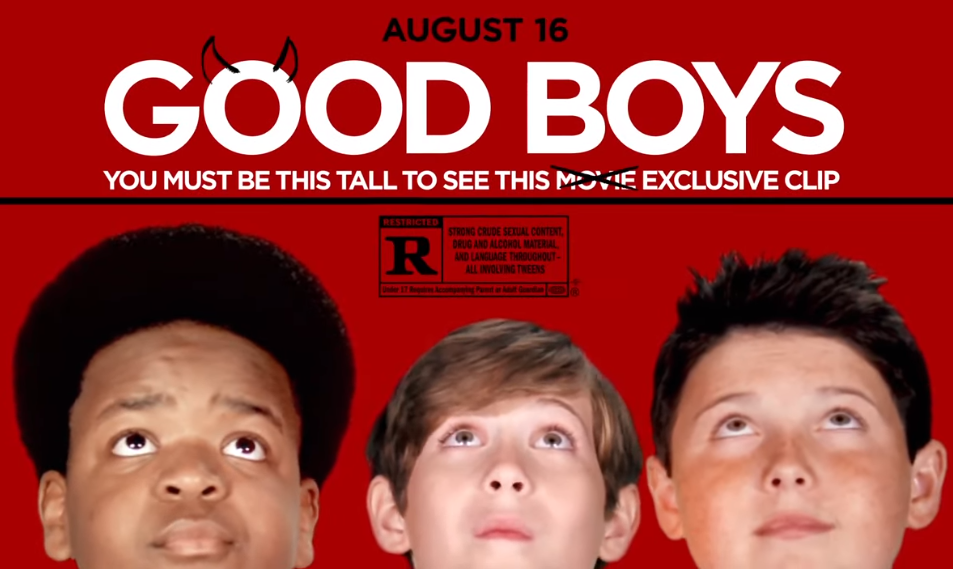 Watch The New Good Boys Rated R Teaser Trailers