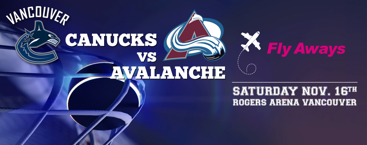EZ Rock - Flyaways - Canucks vs Avalanche