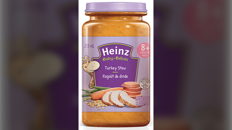 This baby food may contain insects: CFIA