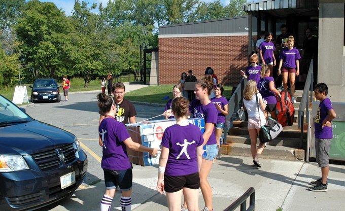 Brock move in day