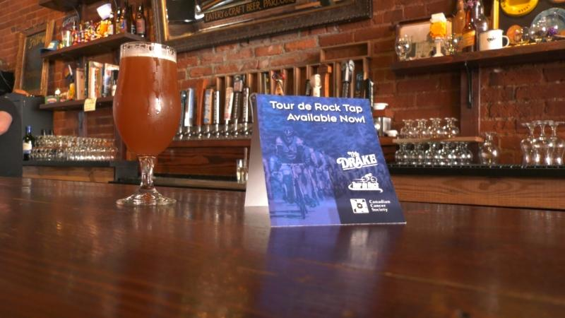Throughout the month of August, patrons at The Drake Eatery on Lower Pandora Avenue in Victoria drank craft beer not only for their own enjoyment, but for a good cause.
