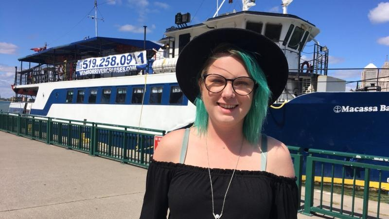 A Cannabis Cruise is coming the Detroit River in Windsor, Ont., Sept. 4, 2019. (Chris Campbell / CTV Windsor)