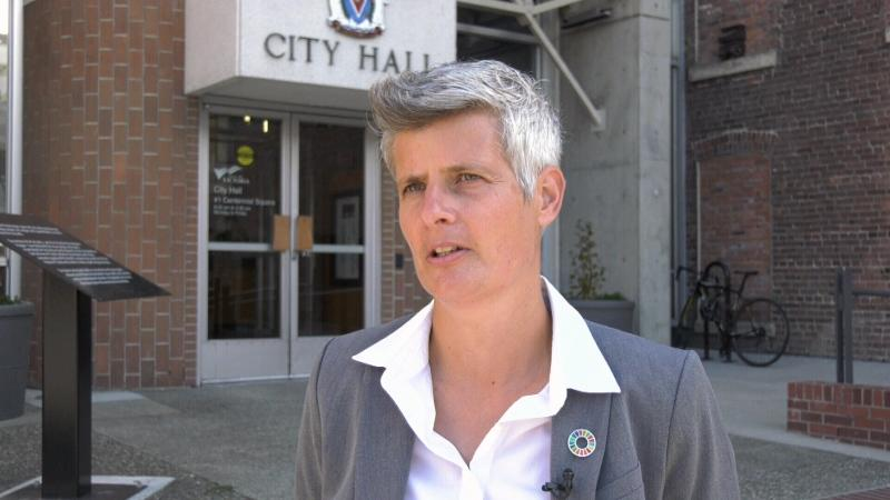 Victoria Mayor Lisa Helps said establishing a regional police force would be an opportunity for the province to lead on public safety, on Sept. 4, 2019. (CTV Vancouver Island)