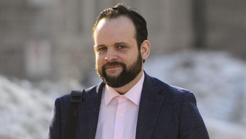Joshua Boyle arrives to court in Ottawa on Monday, March 25, 2019. The assault trial of former Afghanistan hostage Boyle will be delayed for weeks or even months while the courts settle a dispute over allowable evidence.THE CANADIAN PRESS/Sean Kilpatrick