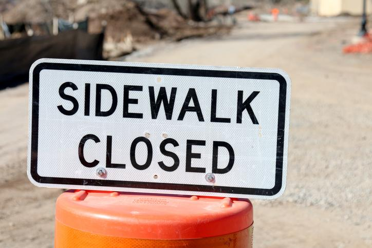 CKTB - NEWS - Sidewalk Closed