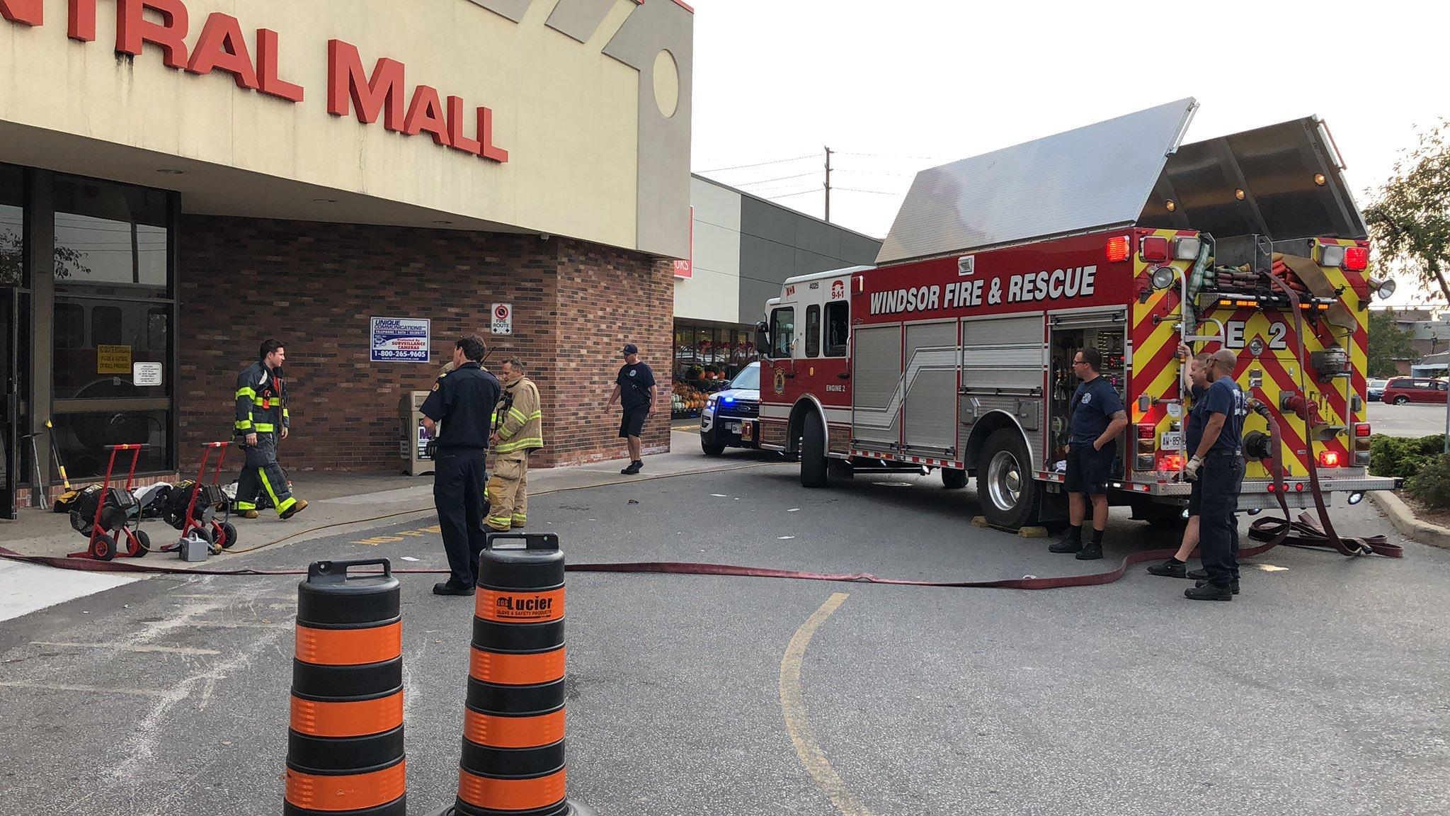 am800-news-central-mall-smoke-fire-september-20-2019