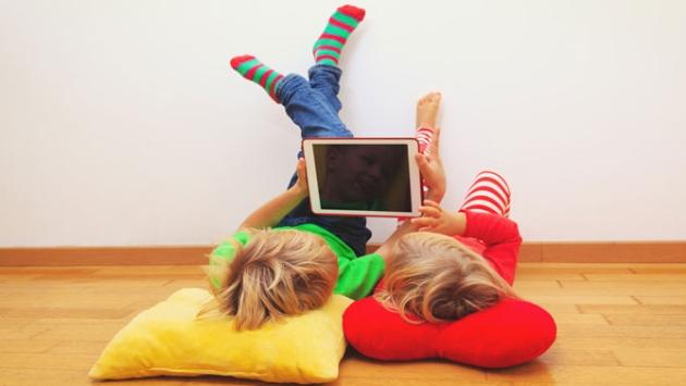 Application pour enfants sur tablette