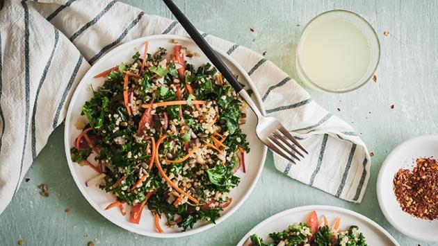 Salade repas pour les lunchs